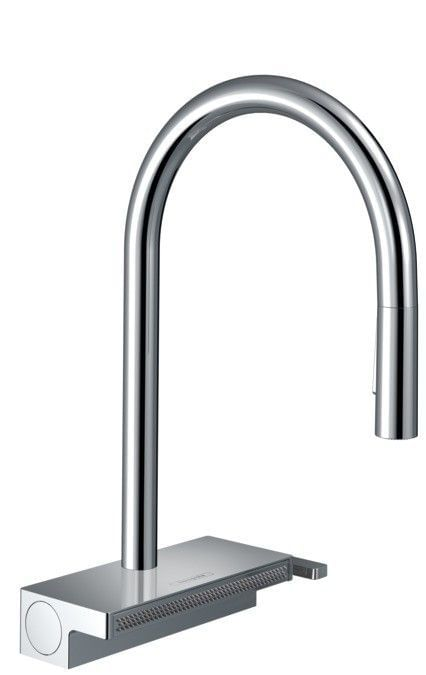 Aquno Select M81 Single lever kitchen mixer 170, pull-out spray, 3jet, sBox