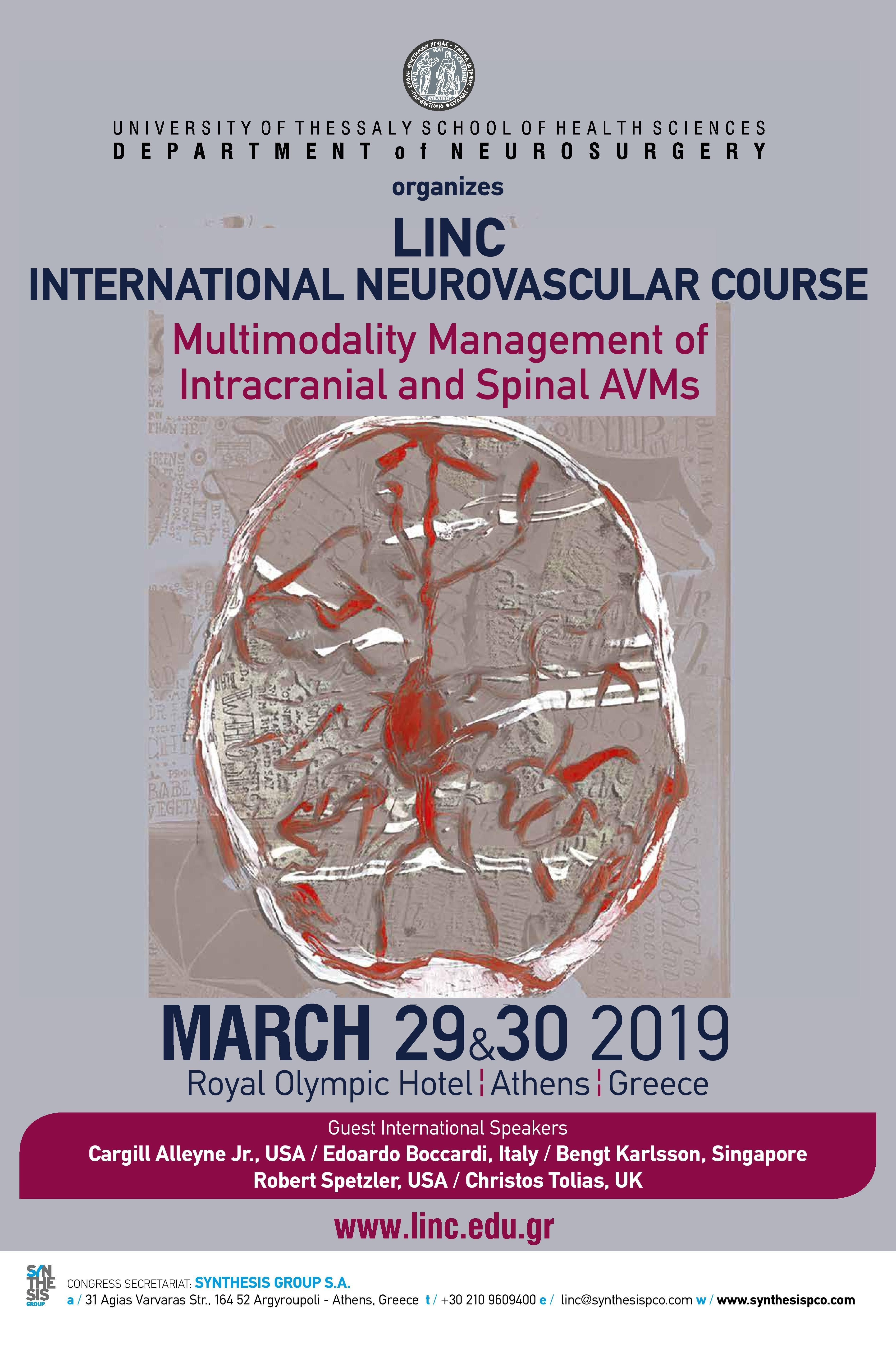 LINC INTERNATIONAL NEUROVASCULAR COURSE