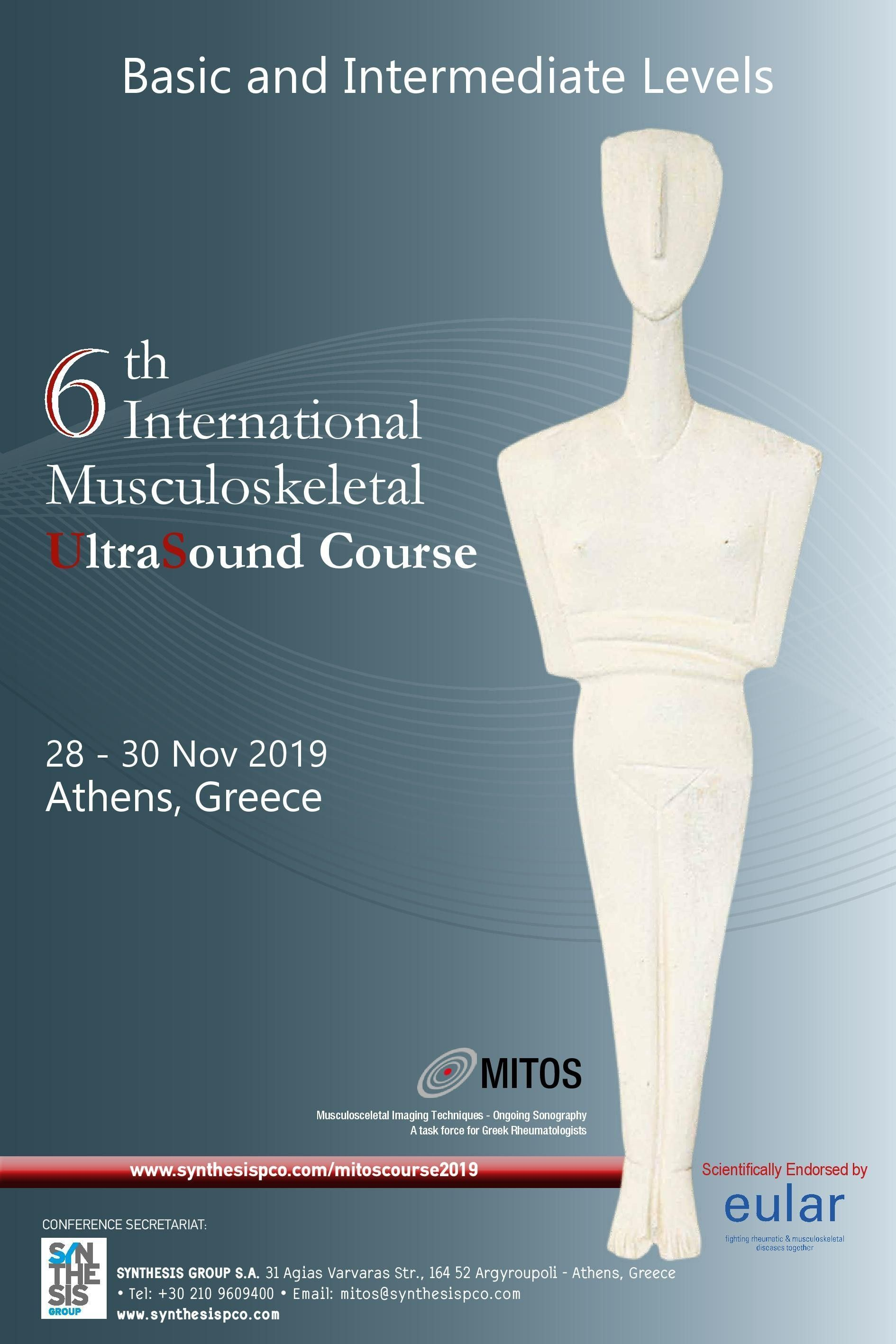 5th INTERNATIONAL MUSCULOSKELETAL ULTRASOUND COURSE