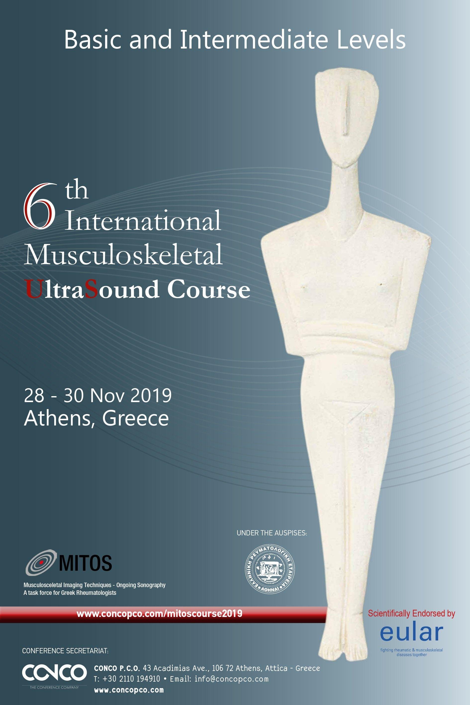 6th INTERNATIONAL MUSCULOSKELETAL ULTRASOUND COURSE