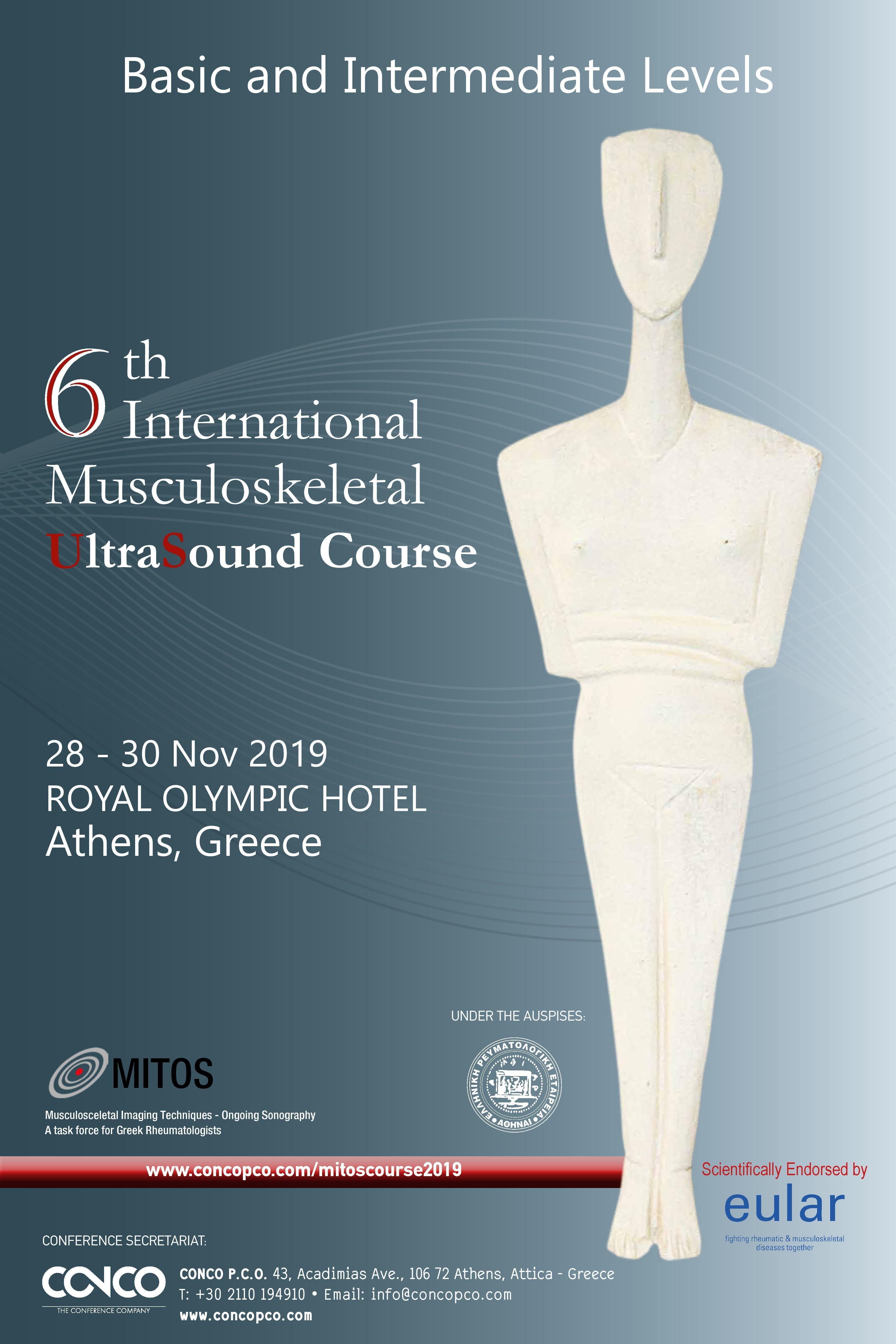 6th INTERNATIONAL MUSCULOSKELETAL ULTRASOUND COURSE